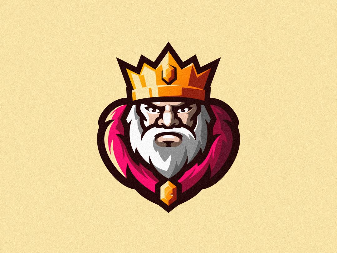 King Game Logo Design Game Logo Cool Logo