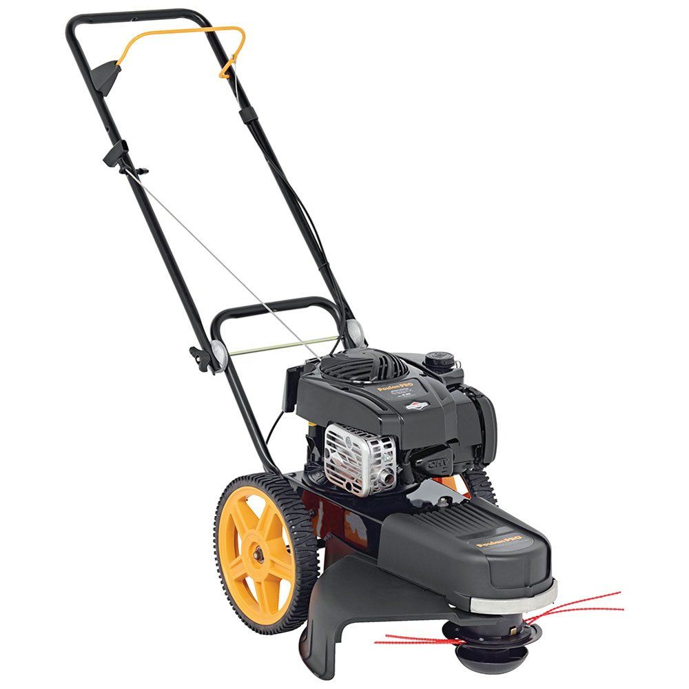 Poulan Pro 961720015 163 Cc High Wheel Lawn Trimmer Mower 22 To View Further For This Item Visit The Image Li Lawn Mower Tractor Lawn Mower Best Lawn Mower