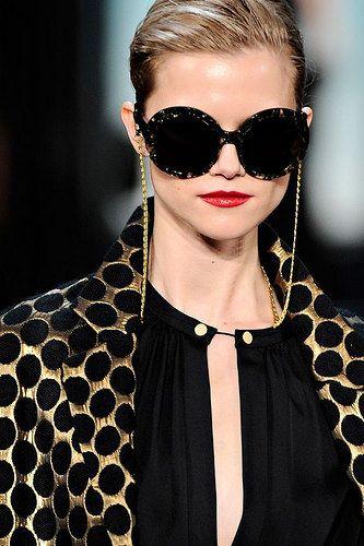 Corrente para óculos de sol  Nova tendência 5fc8a01f9f