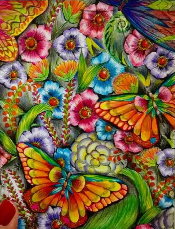 Pin by Coloring Book Zone on Floral Coloring Books Pinterest