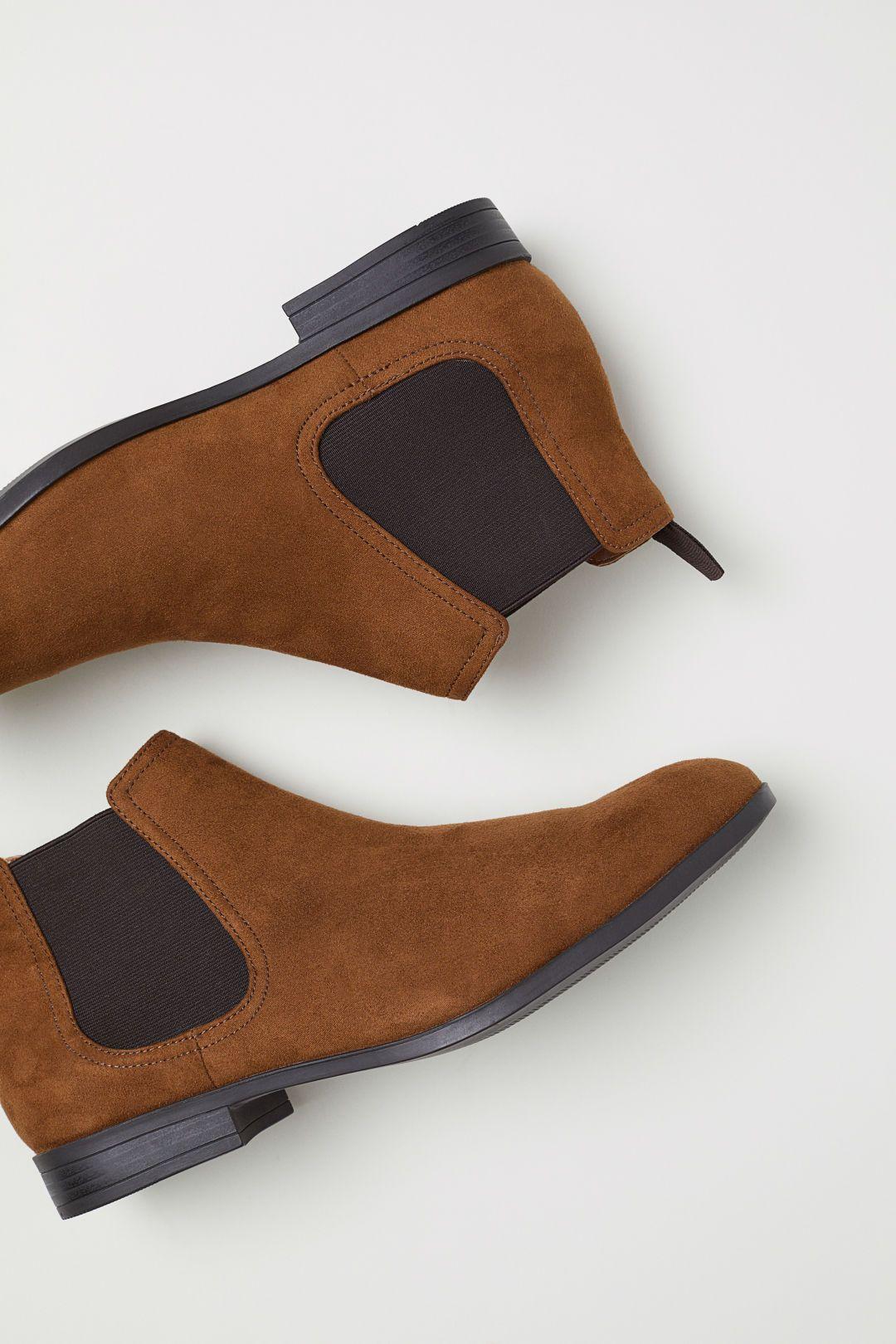 Chelsea-style Boots - Brown - Men   H\u0026M