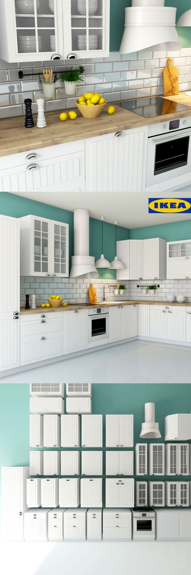 Ikea Stat Faktum Cocinas Pinterest  # Muebles Cocina Ikea Faktum