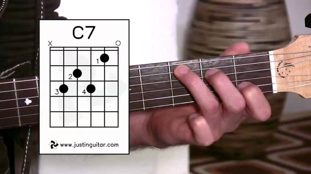 G7 C7 B7 Chords Guitar Lesson Bc 141 Guitar For Beginners Stage