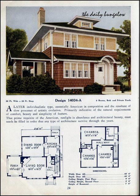 1925 26 C L Bowes House Plans Home Design Floor Plans Floor Plan Design American Houses