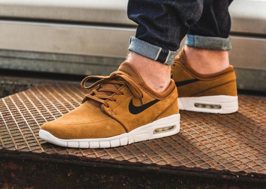 c9bbe68c0989 Nike SB Stefan Janoski Max Suede  Hazelnut   MensFashionSneakers ...