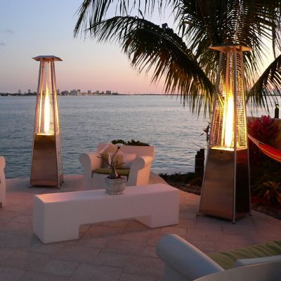 bonfire torch natural gas patio heater - Natural Gas Patio Heater