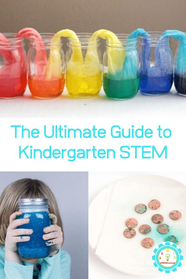 THE ULTIMATE LIST OF STEM ACTIVITIES FOR KINDERGARTEN
