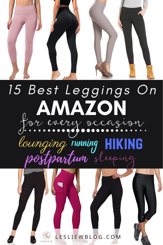 15 Best Leggings On Amazon In 2020 Best Leggings Best Maternity Leggings Postpartum Leggings