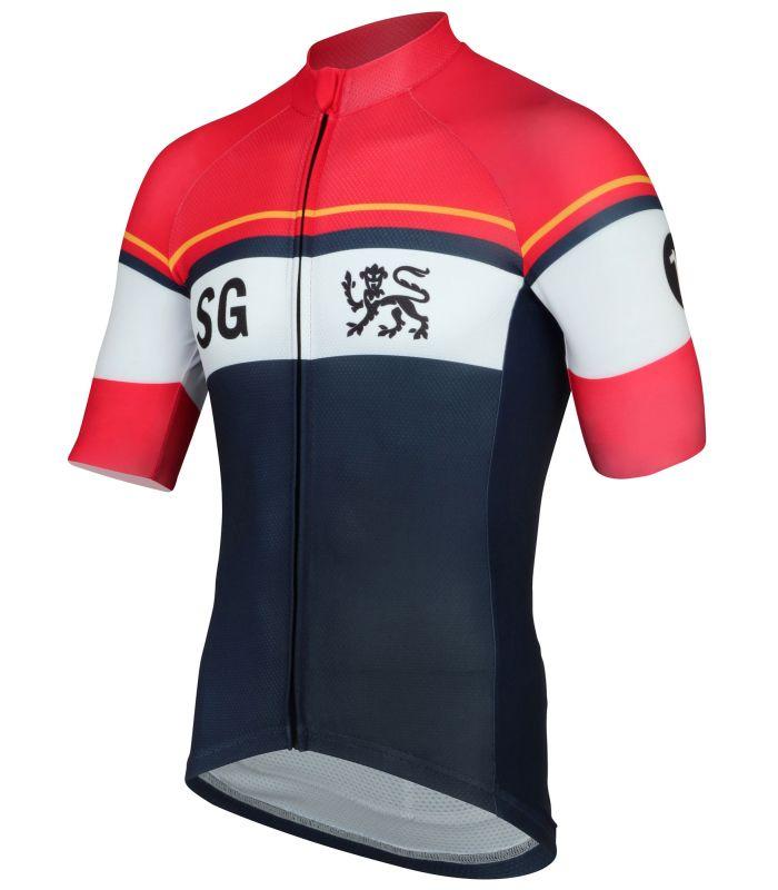 stolen goat domestique short sleeve cycling jersey side