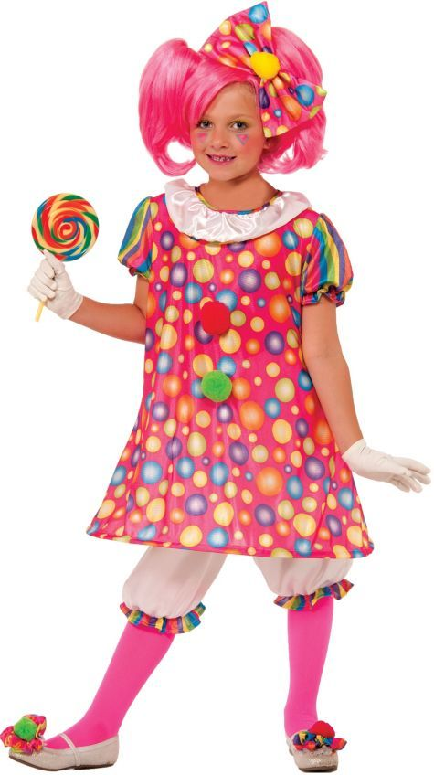 girls little tickles clown costume party city - Partyland Halloween Costumes