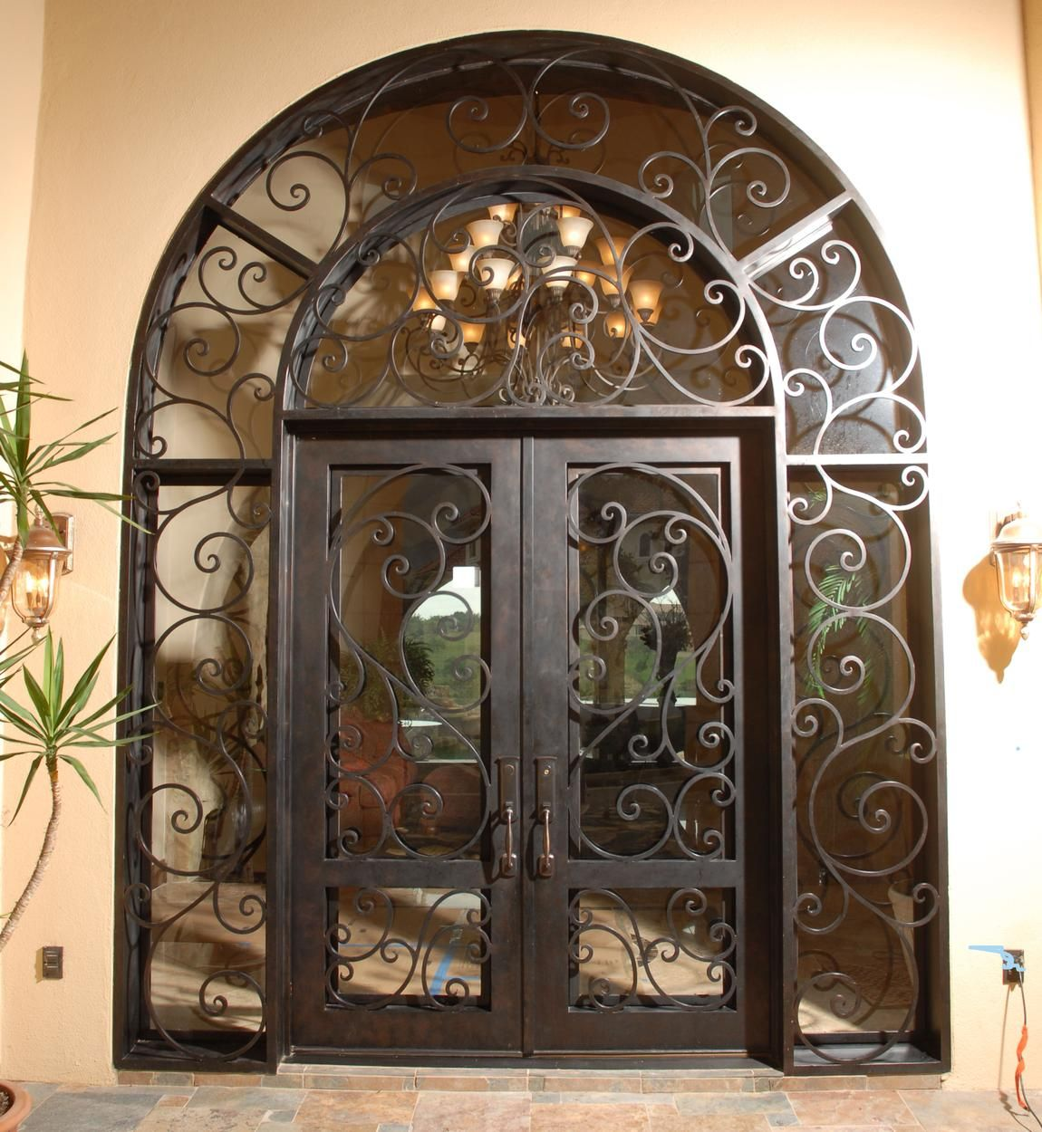 it\'s all in the details! Wrought Iron Line | Durango Doors Suite 300 ...