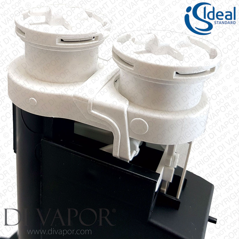Ideal Standard Sv93467 Cistern Dual Flush Valve 1 5 180h 180 O F Pneumatic