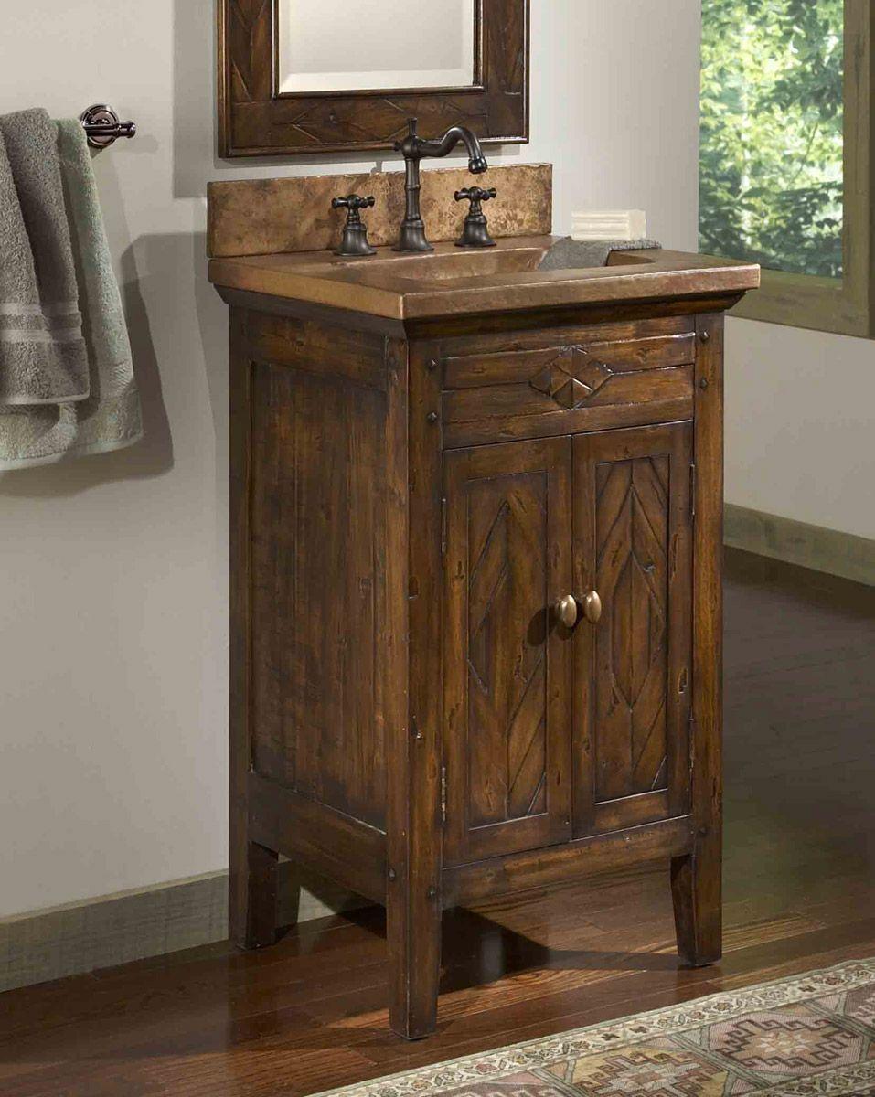 Country Bathroom Vanities Infuse Your Bathroom Country Bathroom Vanities Small Rustic Bathrooms Bathroom Vanity Style