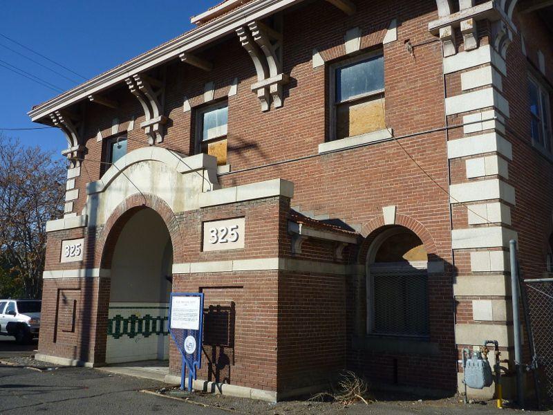 N C O Railroad Depot At 325 E Fourth St Reno Nevada Http Www Axeleratio Com Ip Geo Reno Framed Nco Railroad Depot Htm Nevada California Nevada