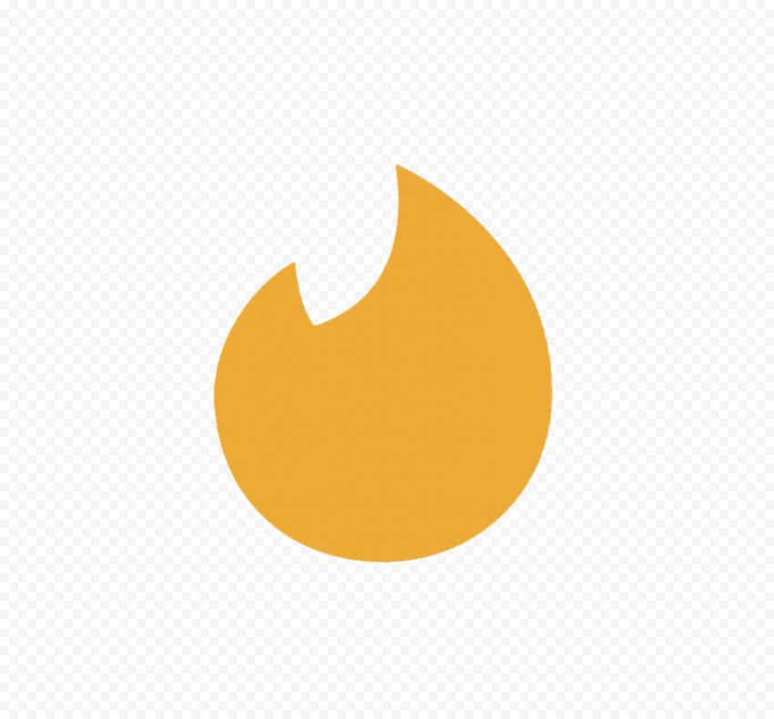 Tinder Gold Symbol Flame Sign Symbols Signs Transparent Background