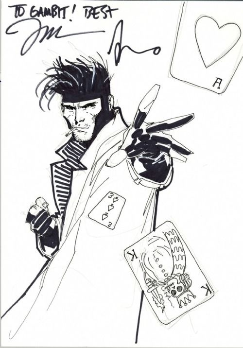 gambit | Animación Digital Tridimensional | Pinterest | Jim lee, Jim ...