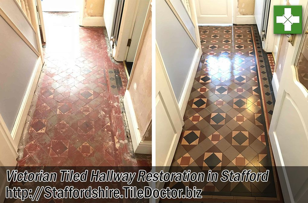 The Photographs Below Are Of A Victorian Tiled Hallway I Recently
