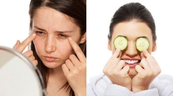 How To Use Cucumber To Remove Dark Circles #darkcircle