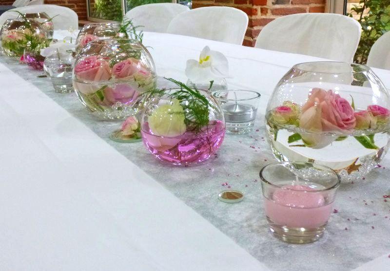 Decoration Mariage Decoration Florale Des Centres De Table