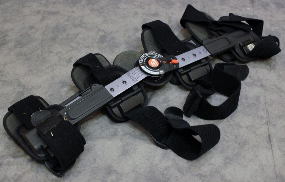 bf04186f06 BREG T Scope Flexion Adjustable Hinged Lockable Left Right Knee Brace Post  Op #Breg