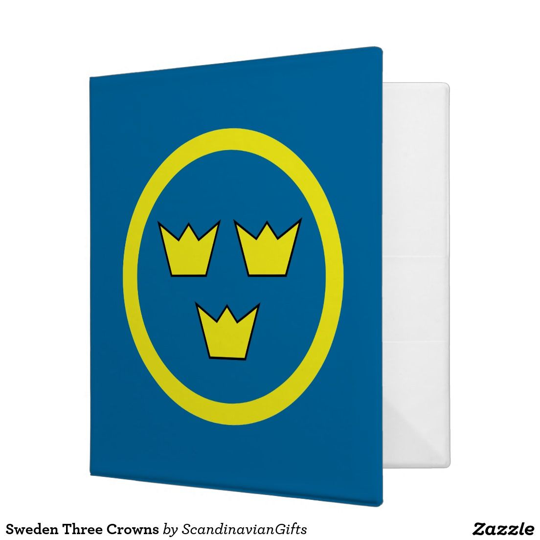 Sweden Three Crowns 3 Ring Binder Zazzle Com Longing For
