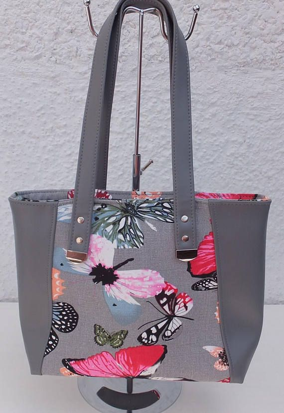 Butterfly Tote Bag Purse Bag Gift for Wife Butterfly Bespoke on