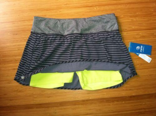 New Womens MPG Mondetta Pretty Runner Skirt Skort Inner Compression Shorts S | eBay