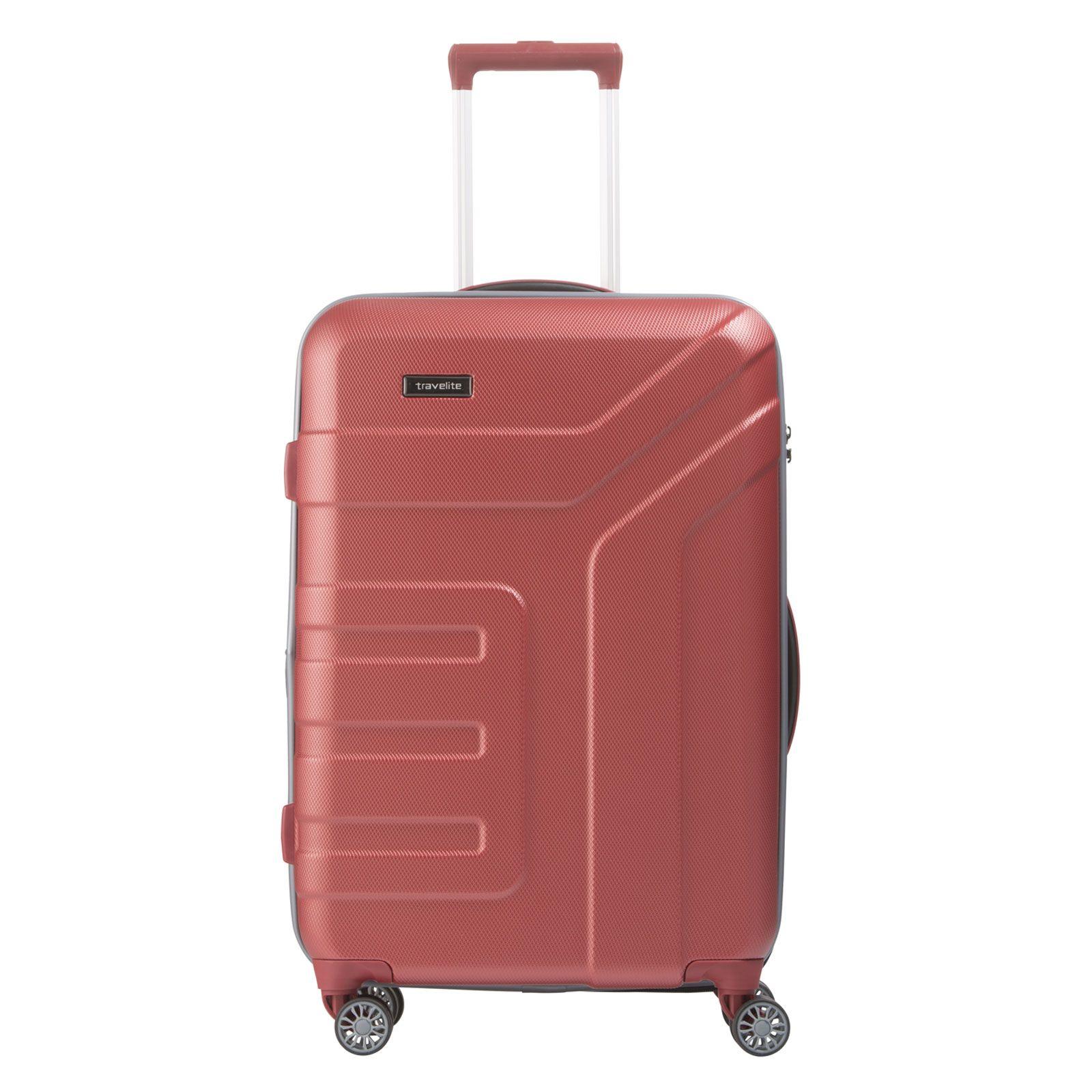 Farbe Korall mittelgroßer koffer travelite vector bei koffermarkt