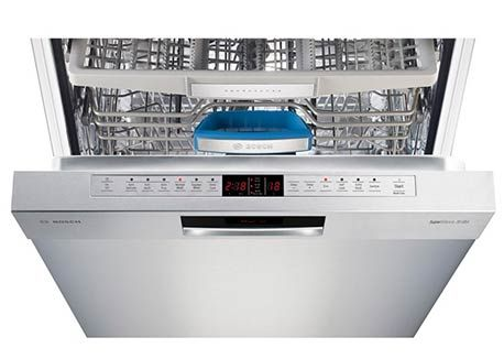 Bosch dishwasher to the left of the sink!