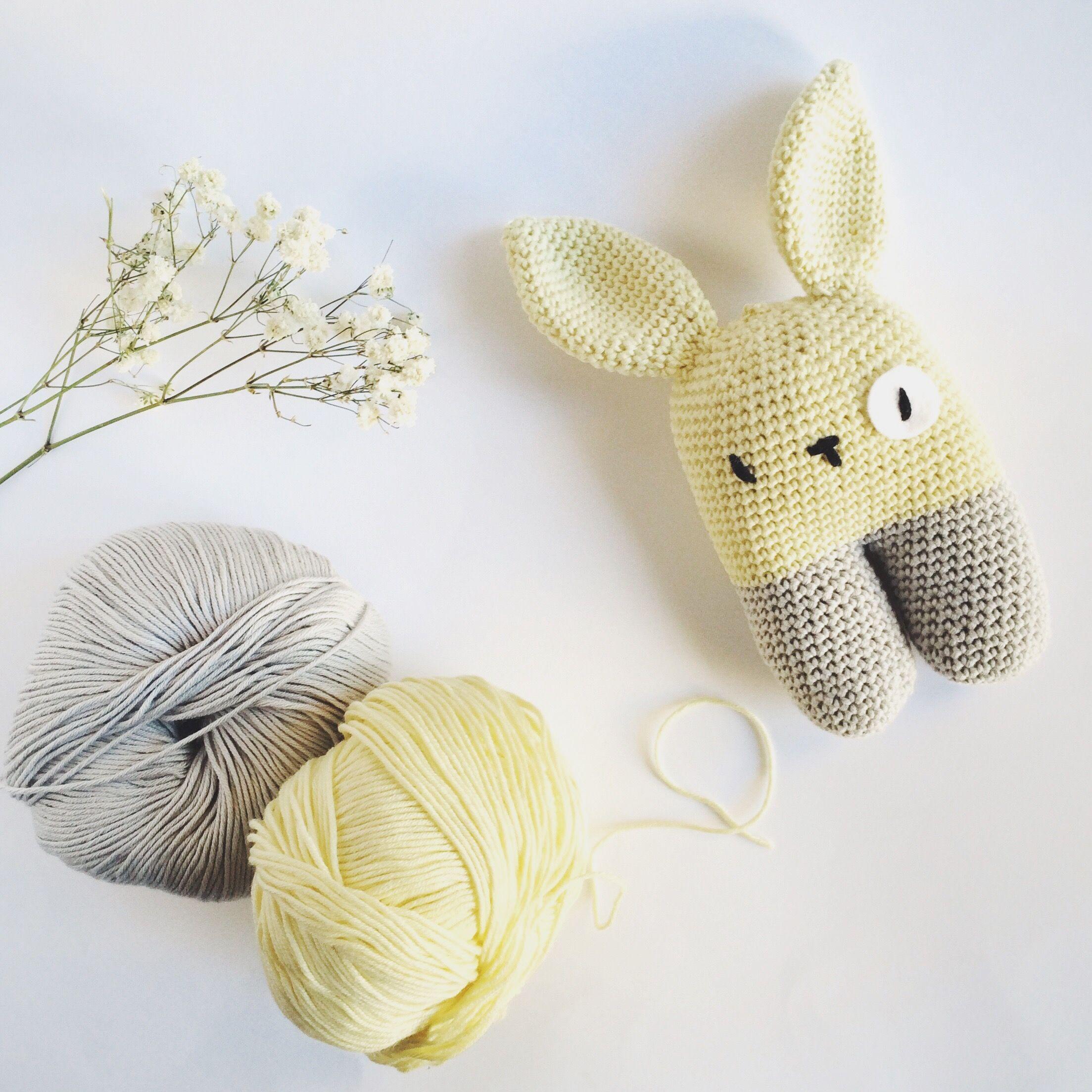 Conejito bípedo patrón de #lanukas #ganchillo #crochet ...