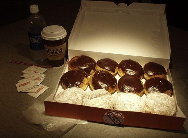 Dunkin' Donuts Boston Cream & Strawberry Filled | Dunkin ...