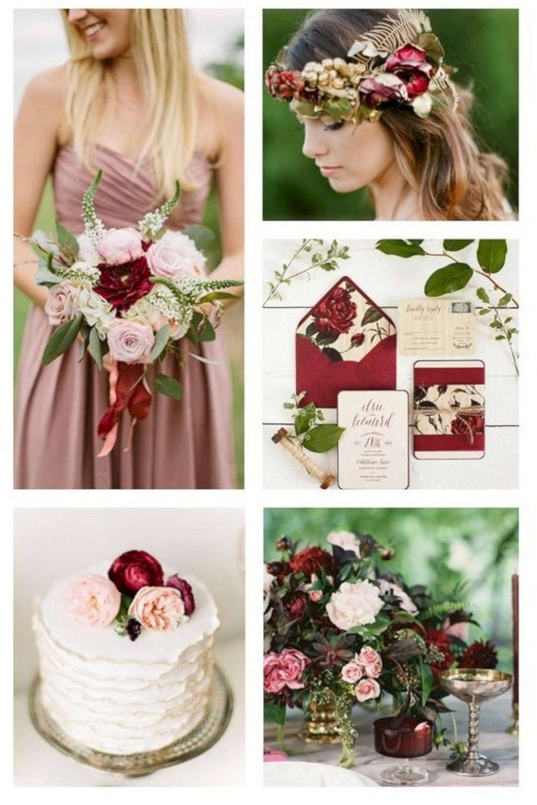 35+ Dusty Rose Wedding Color Ideas For Most Romantic Wedding | Dusty ...