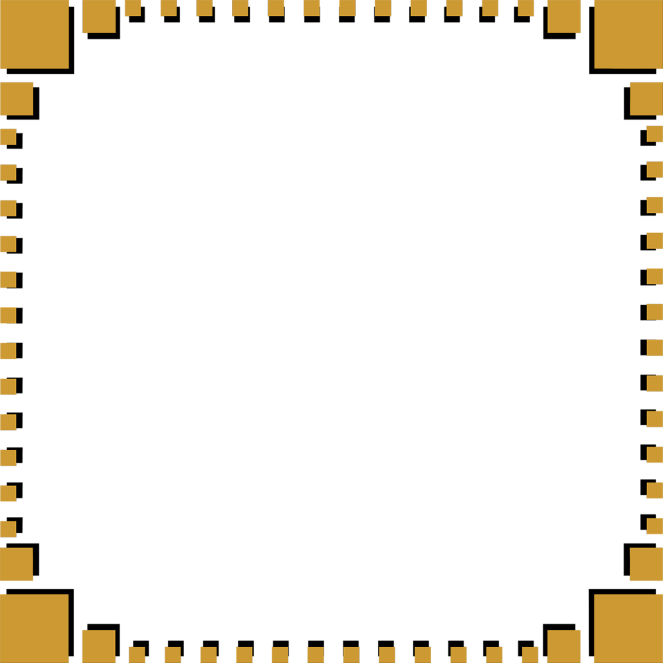 Free stock photos illustration of a blank frame border with - Illustration Of A Blank Frame Border Of Brown Squares Free Stock Photo