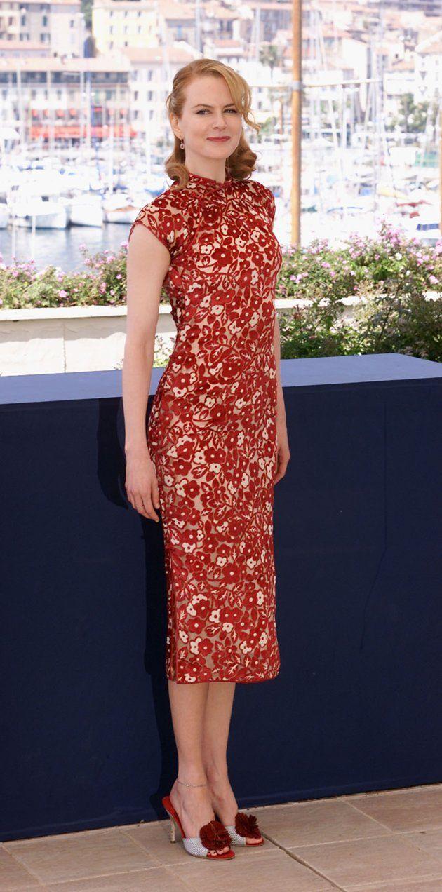 9c4aa43fb99c Nicole Kidman in Red Cheongsam   Nicole Kidman - My Favorite Actress ...