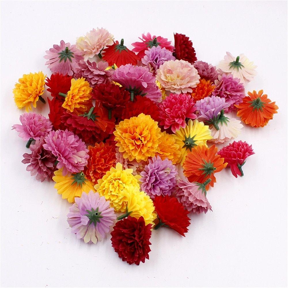 Cheap Artificial Carnations Flowers Buy Quality Artificial Carnations Directly From China Flower Head Suppliers 1 Diy Event Handmade Home Flower Head Wreaths