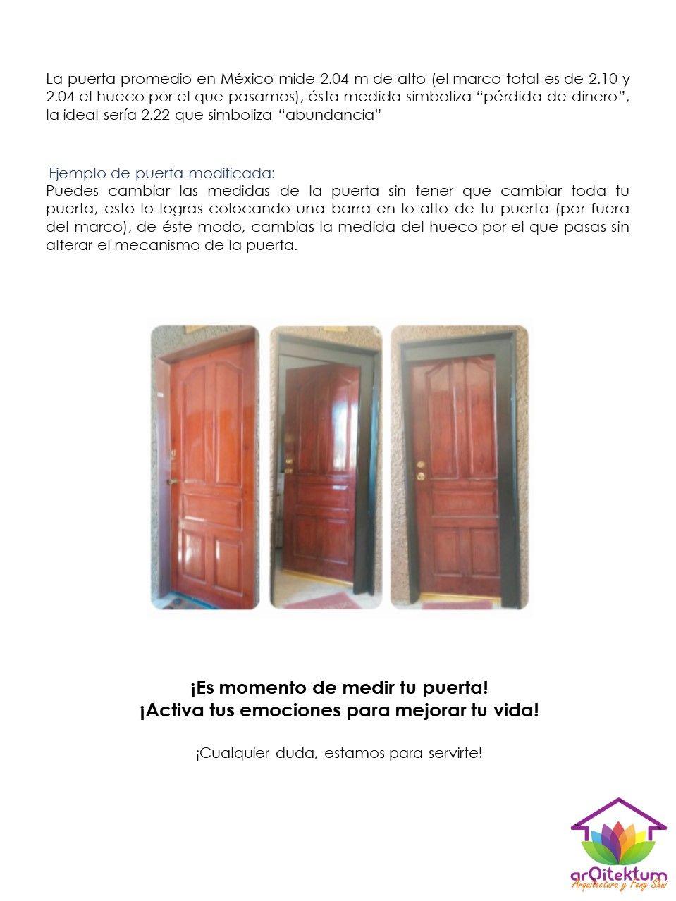 Pin de Difusion Arqitektum en cambio altura de puerta | Pinterest ...