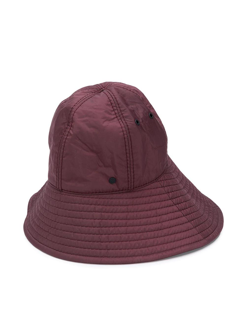Maison Michel Julianne Quilted Bucket Hat Farfetch Maison Michel Bucket Hat Hats