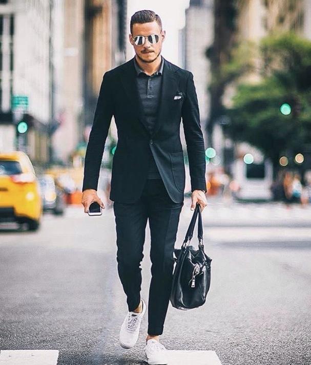black suit in 2020   Mens luxury