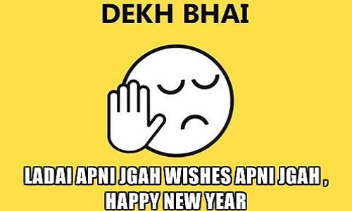 get attractive new year wishes meme 2019