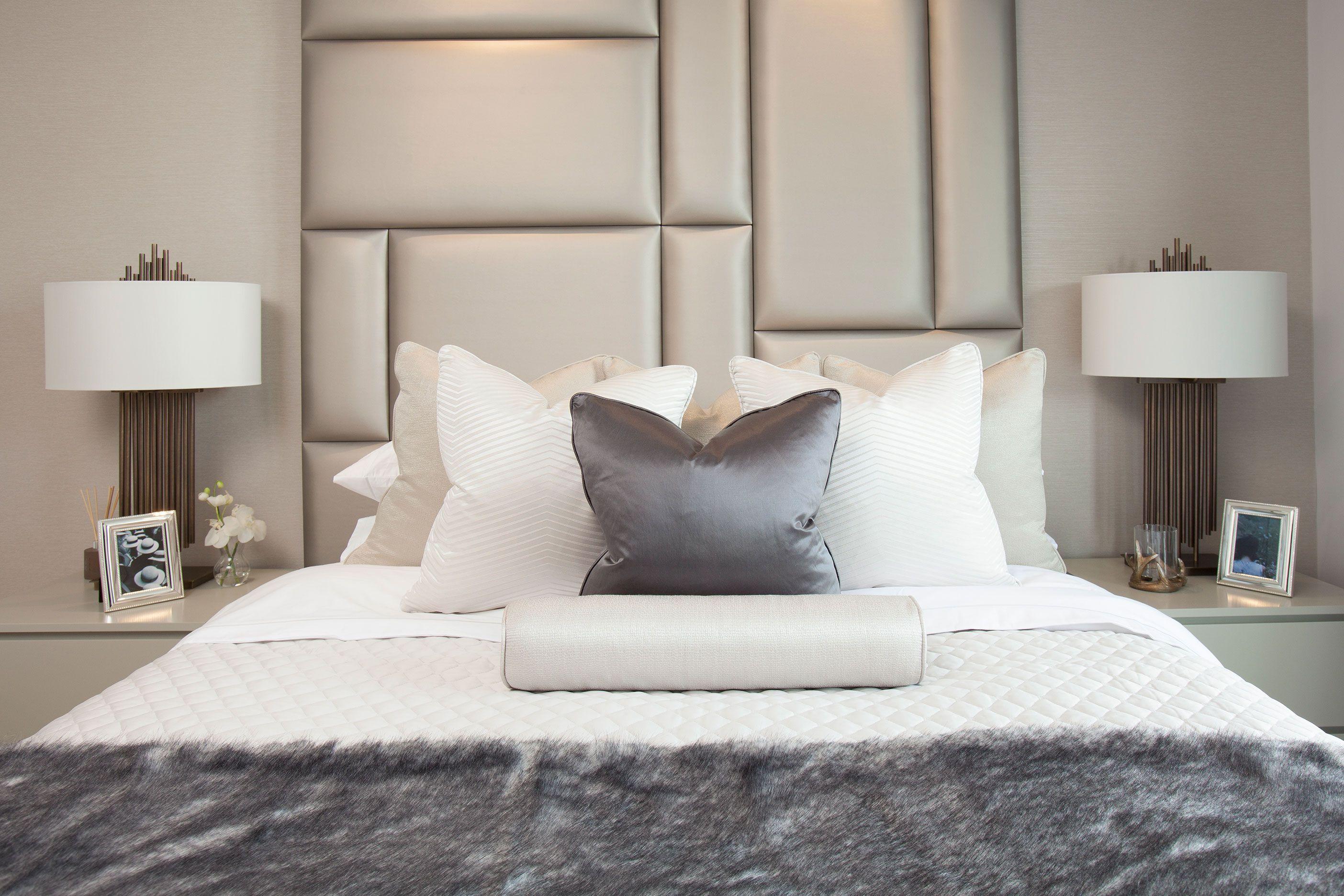 Interiors Photography Bedroom Interior Design Headboard Cushions Bedroom Interior Tile Bedroom Guest Bedroom Decor