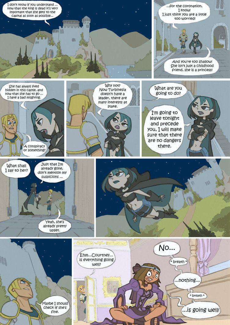 Page 1 Isla Del Drama Fantasy Comics Drama Series Disney Cartoons