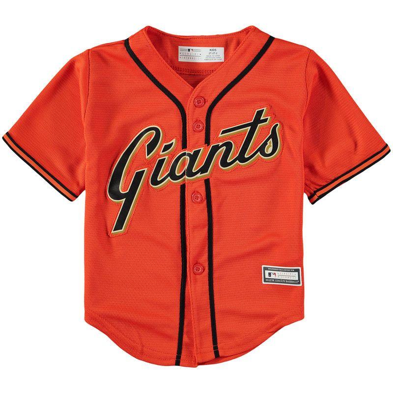 timeless design dbb55 64190 San Francisco Giants Toddler Replica Team Jersey – Orange ...
