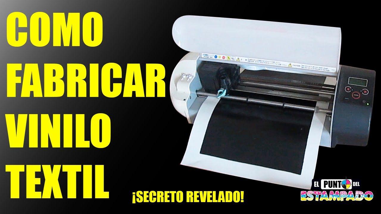 4935116d5 COMO FABRICAR VINILO TEXTIL - SECRETO REVELADO (SERIGRAFIA ...