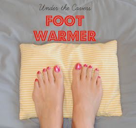 Gingerly Made: Under the Covers Foot Warmers