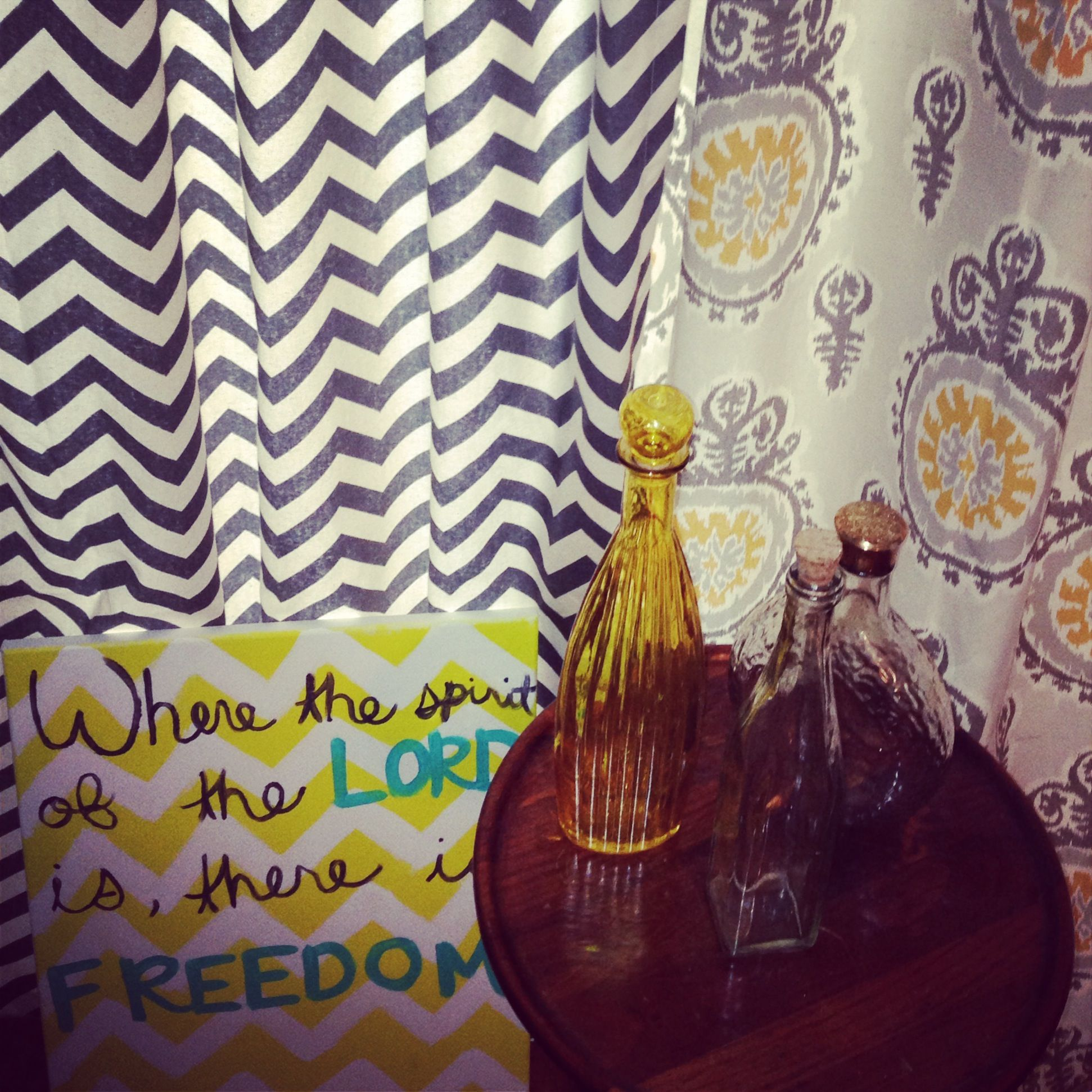 Diy chevron and pattern curtains. | Shared bedrooms ...