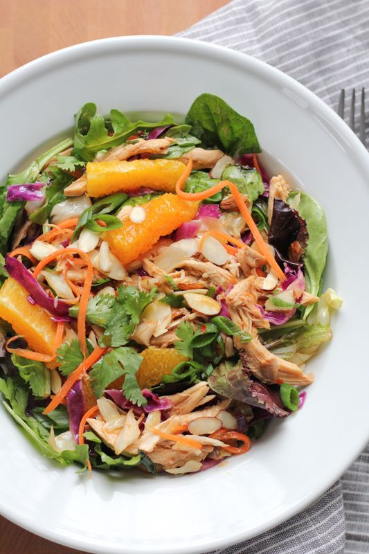 The Best Chinese Chicken Salad Recipe Chinese Chicken Salad Delicious Salads Chinese Chicken