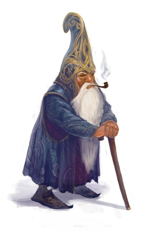 Dallavar Fast Eye King Of The The Forest Gnomes Of The Emerald