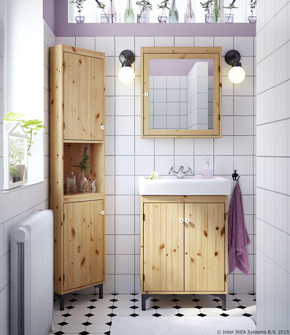wooden ikea bathroom vanities | Pin by IKEA Hrvatska on Kupaonica | Bathroom furniture ...