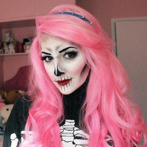 halloween makeup tumblr - Căutare Google | Halloween Makeup ...
