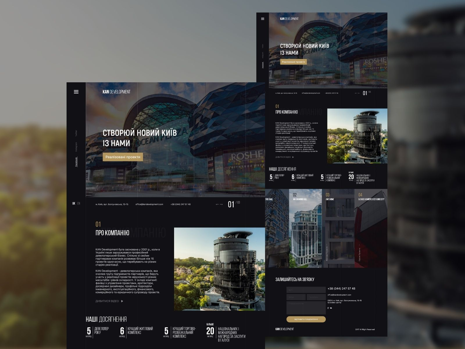 Website For A Large Real Estate Company